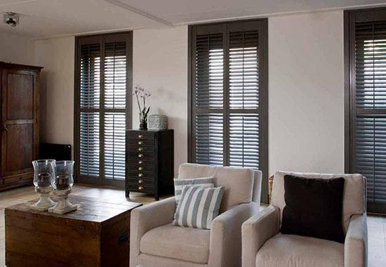 Maak van uw raamdecoratie een eyecatcher met shutters!