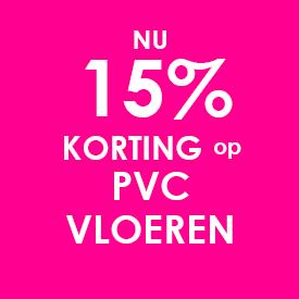 korting op PVC vloeren